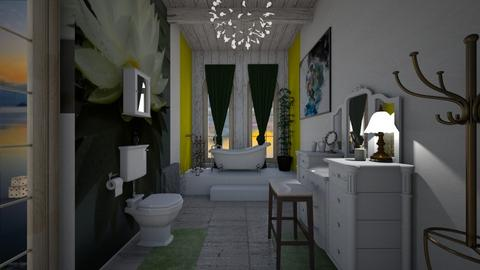 Lillie - Classic - Bathroom  - by decordiva1