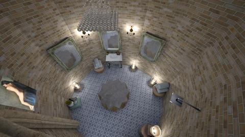 Turkish bathroom top view - Bathroom - by zainab alkaram