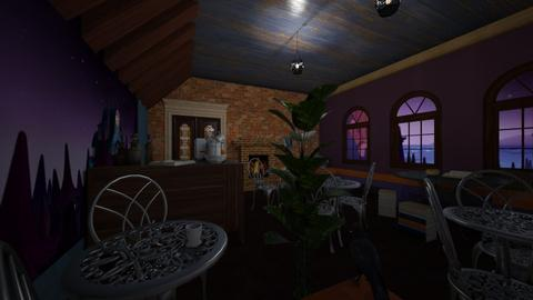 Dream Cafe - Dining room  - by BoilinsIslesDesigns