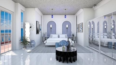 Greek Bedroom - Modern - Bedroom  - by rcrites457