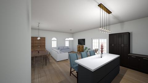 Kibb 3 - Living room  - by Niva T