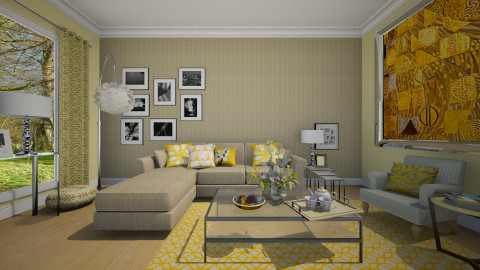 Pimrose_Living - Minimal - Living room  - by janip