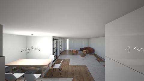 Ontwerp 1 - Living room  - by mvandermeiden
