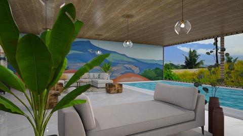 pool - Living room  - by yulamalina