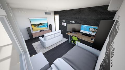 bedroom 1 - Modern - Bedroom  - by AMDK123