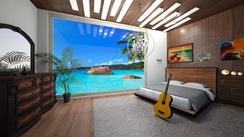 bed life - Modern - Bedroom  - by BlackOrchidea