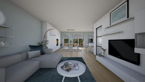 modern living room - Living room - by StienAerts
