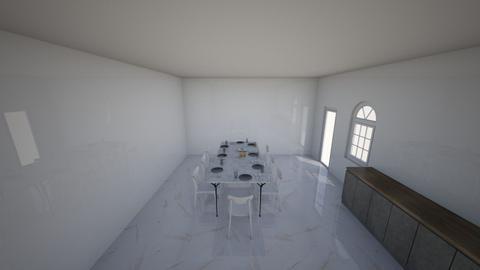 A Scandavian dining room - Modern - Dining room  - by Hafsabashir