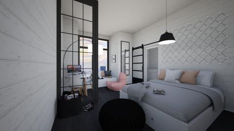 Girl bedroom - Bedroom  - by Victoria_happy2021