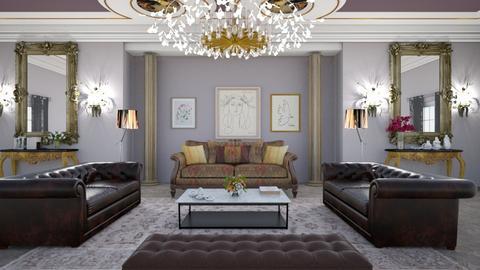 Embassy Reception Room - Living room  - by matina1976