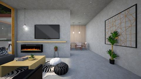 Awe - Living room  - by heyfeyt