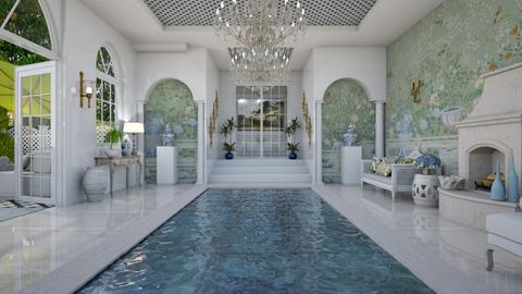 Pool Pavilion 12 - Garden  - by Fofinha