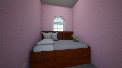 Kitty Cat Bedroom - Glamour - Bedroom  - by SleepzZ