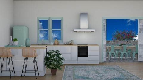 greek kitchen - Kitchen  - by freewillie
