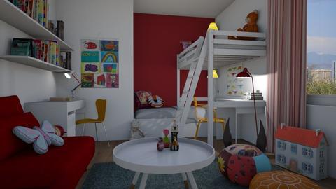 Girls - Kids room  - by Thrud45