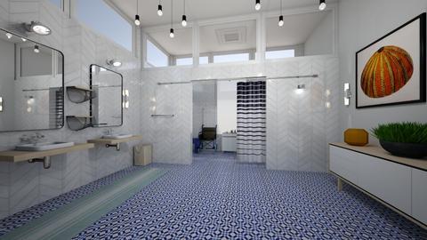 accessible restroom - Modern - Bathroom  - by kat1016