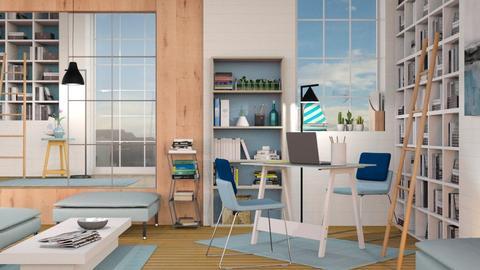 Blue Lawyers Office - Office  - by AnxhelaN