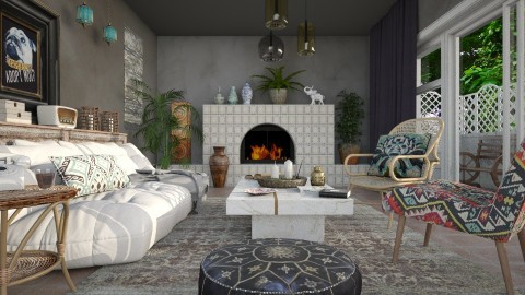 This and That - Eclectic - Living room  - by evahassing