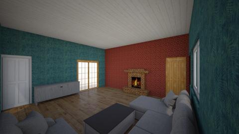 vardagsrum - Living room  - by Tobiasnordgren