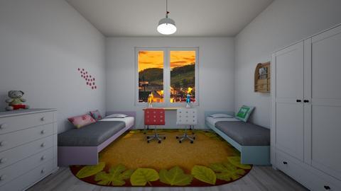 Leaves - Classic - Kids room  - by Twerka