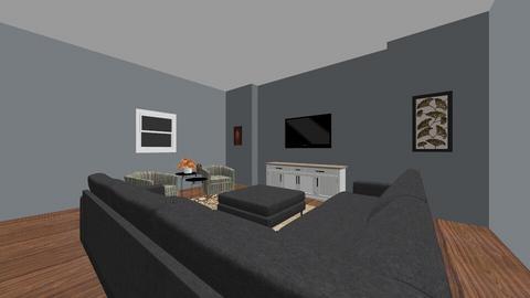 Modern living room - Living room  - by emersyn511
