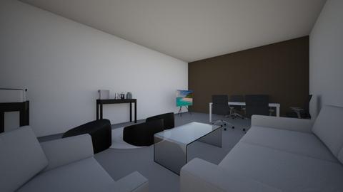 Business room - Modern - Office - by hamadaltamimi
