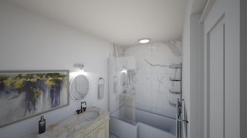 Mr  Mrs Holt Bathroom 2 - Modern - Bathroom  - by DHRGW