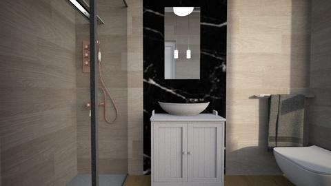 Cologno bagno ospiti30 - Bathroom - by natanibelung