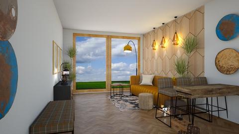 kiszkanr2salon - Living room  - by ewcia3666