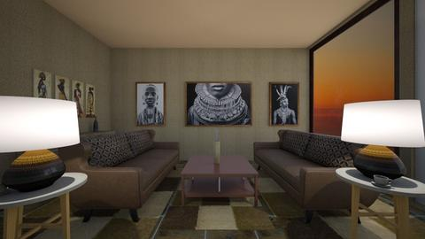 Africa N - Eclectic - Dining room  - by emivim