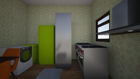 dining room and kitchen - Kitchen  - by Inguna Gurgane