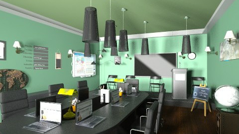 cnference office - Modern - Office  - by lamzoi