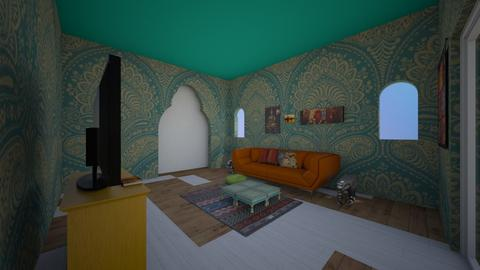india living  - Living room  - by Hippie_11