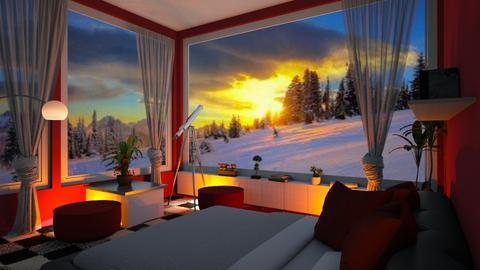 night sky bedroom - by ilcsi1860