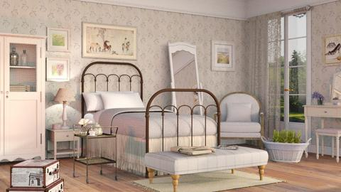 Shabby Chique Bedroom - Country - Bedroom - by Sally Simpson