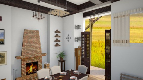 Hungarian farmhouse - Country - Dining room  - by Sali15