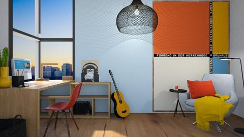 Bauhaus office - by Esko123