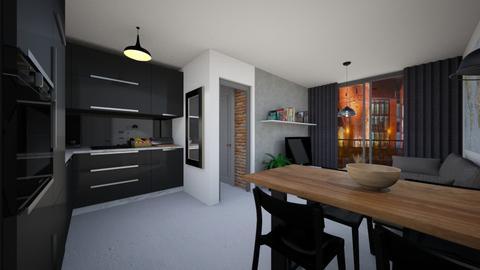 Student Flat - Modern - Living room  - by agnieszka_giez