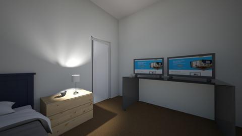 bedroom  - Minimal - by zackwainwrightfx