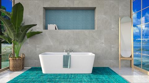 Saltwater - Minimal - Bathroom  - by LuluDesignStyle