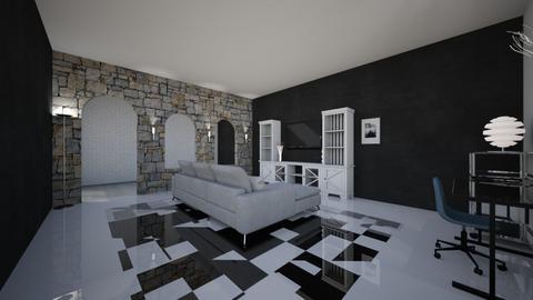 wohnzimmer - Living room  - by srdesignnrw