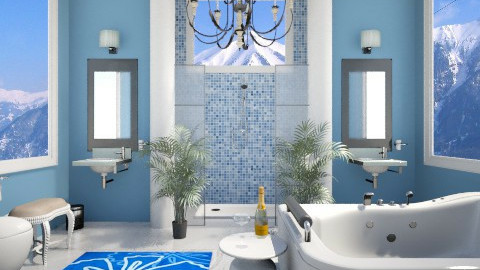 Bath5 - Bathroom  - by VeroDale