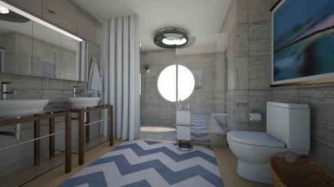 little spa - Modern - Bathroom  - by kat1016