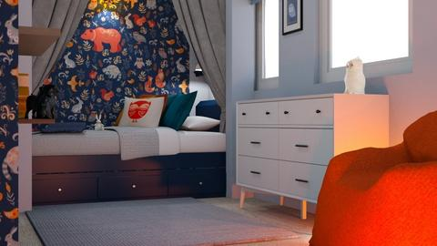 VA Larissa - Kids room  - by Misty Moon