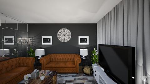 after 5 years LRM 1BB5 - Living room - by zainab alkaram