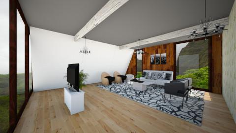 Modern attic - Modern - by bgref