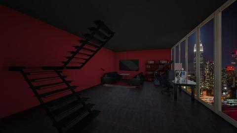 skyline - Living room  - by nastiyaivanovna