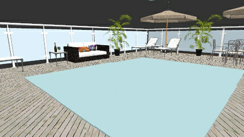 beach patio 2 - Modern - by designer2001