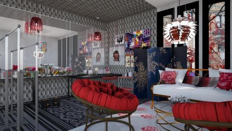 dressing room - by macus
