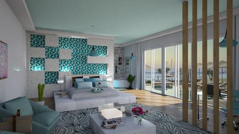 ibiza - Glamour - Bedroom  - by soralobo